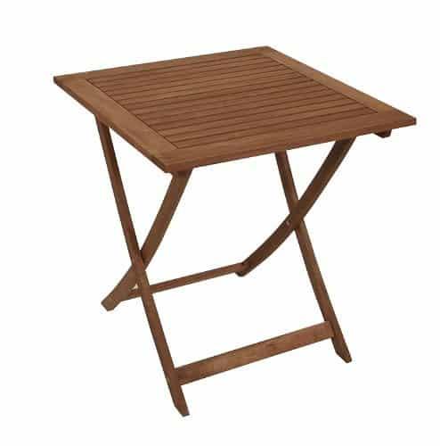 Gartentisch Holz Klappbar Gebraucht ~ Klapptisch, Eukalyptusholz (FSC Zeichen), Natur, 70x70x72cm, von