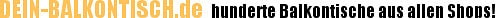 BALKONTISCH – Die Top 100 Balkontische aus allen Shops